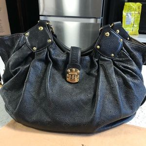 Authentic Louis Vuitton Mahina hobo Lrg